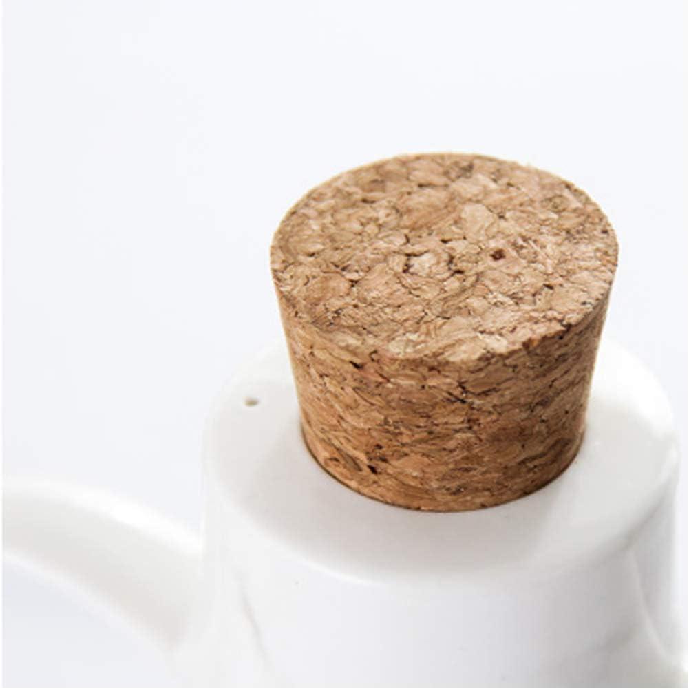 Dispensador de Aceite de Oliva con Tap/ón Vinagre Botella Contenedor de Aceite de Oliva LIONWEI LIONWELI Botella dispensadora de Aceite Salsa de Soja Aceitera de Cer/ámica Aceiteras de Cocina