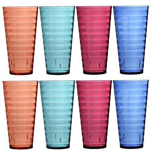 Splash 28 ounce Plastic Tumblers Assorted product image