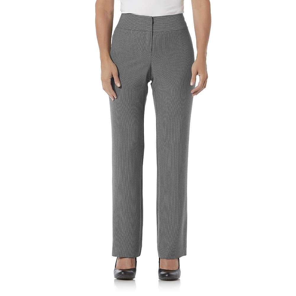 Size 14Petite Covington Petites Curvy Fit Dress Pants Grey