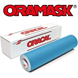 "Oracal ORAMASK 813 Stencil Film Roll for cricut, Silhouette, Cameo, Craft Cutters (12"" x 10Ft)"