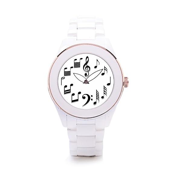 015c02b6827a Algunos diferentes hombres de cerámica color blanco marca relojes   Amazon.es  Relojes