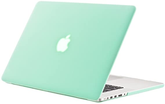 Marc Jacob Rubberized Hard Case Cover for Apple MacBook Pro (Green) <span at amazon
