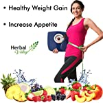 HerbalValley Super Weight Gain Natural Capsules for Men and Women, 60 Caps – Pack of 1