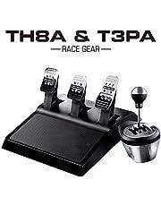 Thrustmaster TH8A (schakelhendel, H-schakeling 7+1/sequentieel +/-, PS4/PS3/Xbox One, PC) Versnellingshendel + crankstel.
