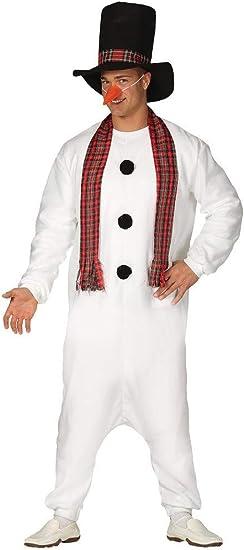 Disfraz Pijama de Muñeco de Nieve para Hombre: Amazon.es: Juguetes ...