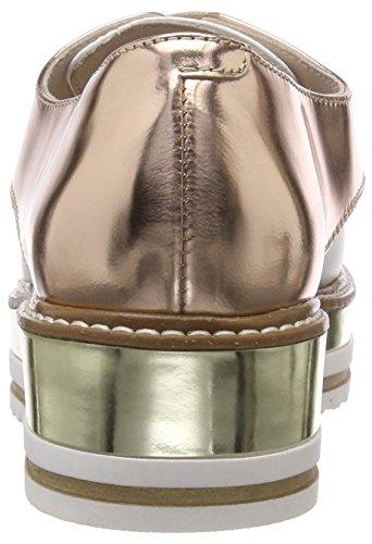 Zapatos Dorado BLU Mujer Derby de Tosca para Platino 05p Cordones Country qg8awdwxE0