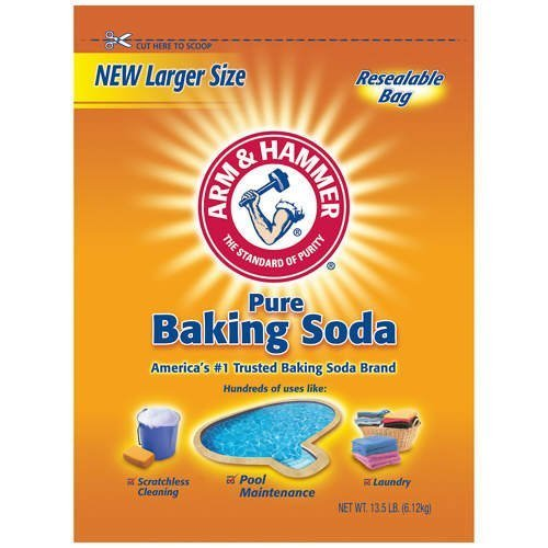 2 x 13.5 Pounds Arm & Hammer Pure Baking Soda (27 Pounds Total) (Arm & Hammer Baking Soda)
