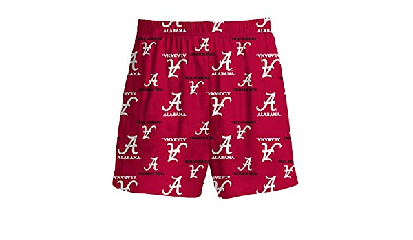 Gen2 Alabama Crimson Tide Red All Over Youth Pajama Shorts