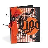 Sizzix 657455 Bigz Die Gothic Boo by Tim Holtz, Black