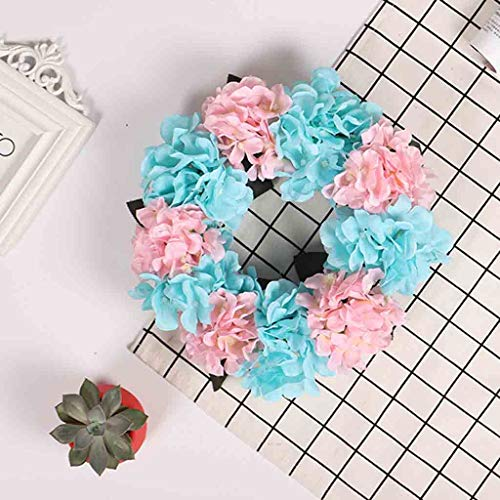 Seed Wreath Sun - Sun·Light Artificial Flower Floral Hoop Leaf Hydrangea Wreath Wall Window Door Hanging Home Wedding Decoration,Wall Home and Wedding Decor