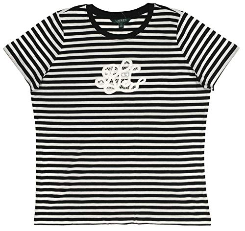 Monogram Polo - Lauren Ralph Lauren Plus Size Lace