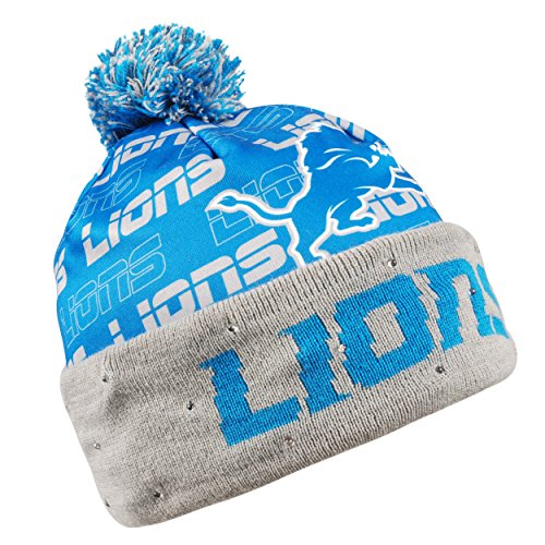 Detroit Lions Light Up Printed Beanie Detroit Lions Light