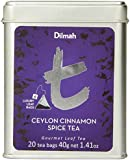 Dilmah Tea, Ceylon Cinnamon Spice Tea, 20 Count Luxury Leaf Teabags