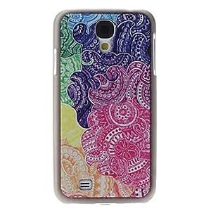 TOPQQ Flower Pattern Hard Case for Samsung Galaxy S4 I9500