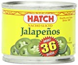 Hatch Chile Company Hatch Nacho Sliced Jalapenos, 4-Ounce (Pack of 12)