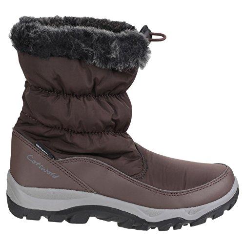 Pull Lightweight Waterproof On ladies Cotswold Boots Frost Snow Marrón Womens XxwqRwSIv