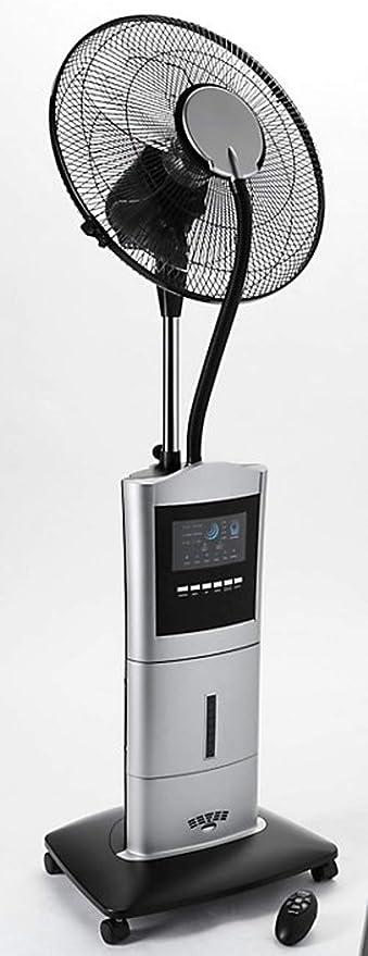 Ventilador de pie + pulverización Ionizador Anti Mosquitos ...