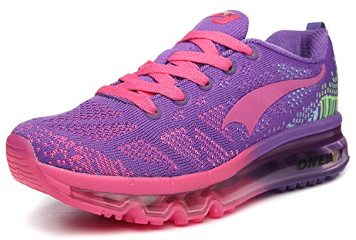 ONEMIX Womens Air Cushion Outdoor Sport Running Shoes Lightweight Casual Sneakers