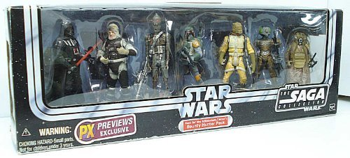 Exclusive Figure Set (Star Wars Original Trilogy Exclusive Action Figure Bounty Hunter Gift Set)