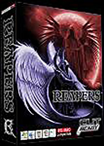Grim Reapers Vector Clip Art - For sign cutters, vinyl machines, and T-shirts by Cut Ready Clipart