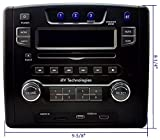 iRV Technology iRV34 AM/FM/CD/DVD/MP3/MP4 /USB/SD/HDMI/Digital2.1/Surround Sound/Bluetooth 3 Zones Wall Mount RV Radio Stereo