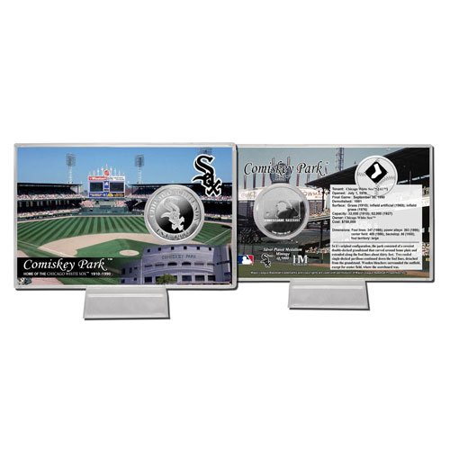 Chicago White Sox US Cellular Field Silver Plate Coin Card ()