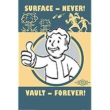 Fallout 4 - Pip-Boy Slogan 24x36 Poster by Poster Art House