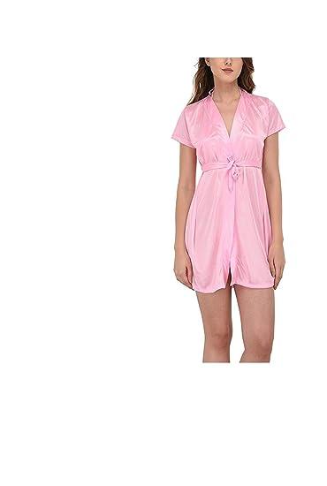 087114fd3 NEW BLUE EYES Pack of 2 Honeymoon Satin Nighty with Lacy Honeymoon Bikini  Nightwear Lingerie