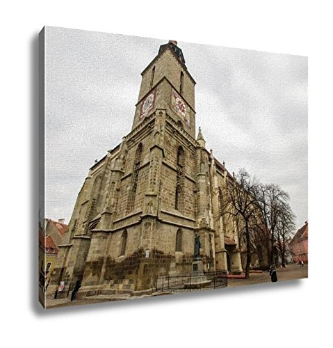 Ashley Canvas, Black Church In Brasov Romania, Home Decoration Office, Ready to Hang, 20x25, AG5918620 by Ashley Canvas