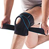 DOUFURT Knee Brace for Meniscus Tear, Relieves Arthritis Pain, Open Patella Brace with Adjustable Straps and Side Stabilizers, Non Slip Breathable Neoprene, Best Knee Support for Men and Women