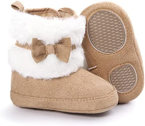 FORESTIME Baby Girls Boys Soft Booties Snow Boots Infant Toddler Newborn Warming Shoes