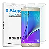 Samsung Galaxy Note 5 Screen Protector,[ 2 Pack ] Asstar 9H Hardness 2.5D Tempered Glass Bubble-Free Screen Protectors for Samsung Galaxy Note 5