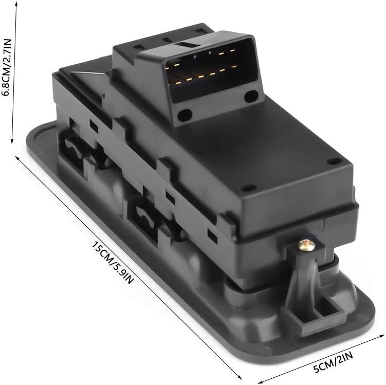 KIMISS Auto Fensterheberschalter Power Master Fensterheber Schalter