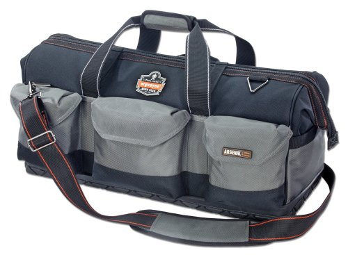 Arsenal 5808 Long Widemouth Tool Organizer Bag by Ergodyne