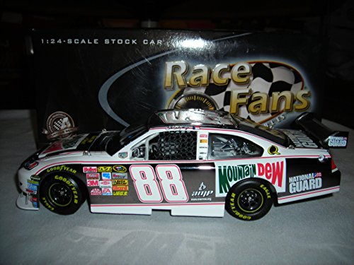 2008 ACTION RCCA RFO DALE EARNHARDT JR #88 MOUNTAIN DEW RETRO 2008 IMPALA SS GUNMETAL 1:24 NASCAR DIECAST