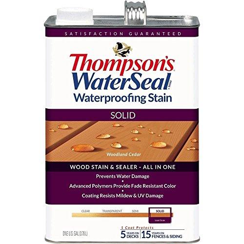 THOMPSONS WATERSEAL TH.043851-16 Solid Waterproofing Stain Woodland Cedar
