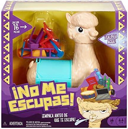 Mattel Games - Lupe la llama que escupe Juego de mesa para niños +5 años (GGB43): Amazon.es: Juguetes y juegos