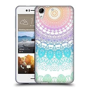 Official Monika Strigel Rainbow Boho Lace Soft Gel Case for HTC Desire 728