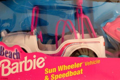 Pearl Beach Barbie Sun Wheeler Vehicle Amp Speedboat Jeep