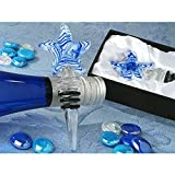 Murano Art Deco Collection Starfish Wine Stopper - 72 Pieces