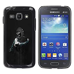 Design for Girls Plastic Cover Case FOR Samsung Galaxy Ace 3 Cybrog Tennis Player OBBA