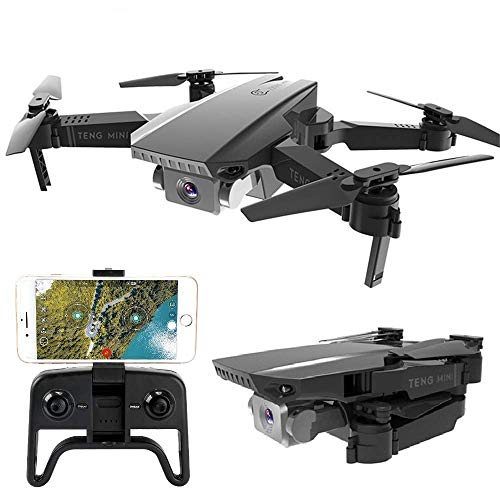 Teeggi M71 Foldable Drone with Camera for Beginners 1080P HD Live Video Drones for Kids, WiFi FPV RC Quadcopter with…