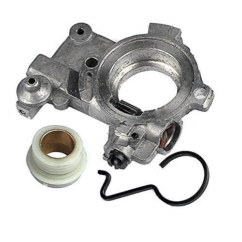 New Pack Oil Pump with Worm Gear for STIHL 065 066 MS650 MS660 Chainsaw (Handlebar Pump)