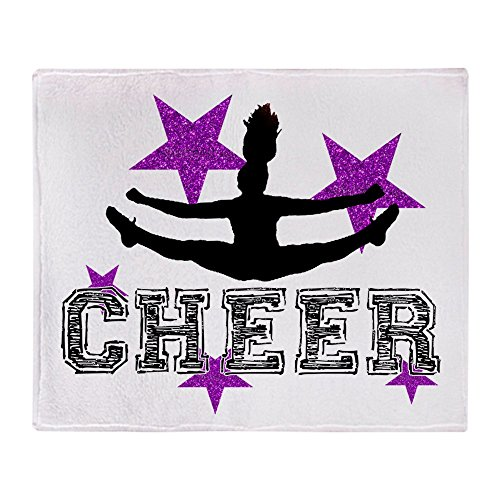 (CafePress Cheerleader Soft Fleece Throw Blanket, 50