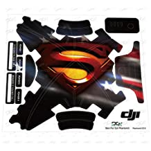 Generic C012 Protective Waterproof Superman Decal Skin Sticker for DJI Phantom 3 Quadcopter