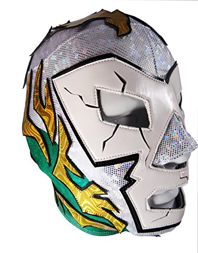 DR. WAGNER Lycra PRO Adult Lucha Libre Wrestling Mask (pro-LYCRA) Costume Wear by Mask Maniac