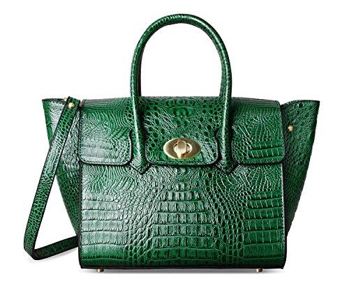 Verde para mujer Bolso asas de PIFUREN qYHBfx