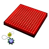 HQRP 225 Red LED Indoor Garden Hydroponic Plant Grow Light Panel 14W + Hanging Kit + HQRP UV Meter Review