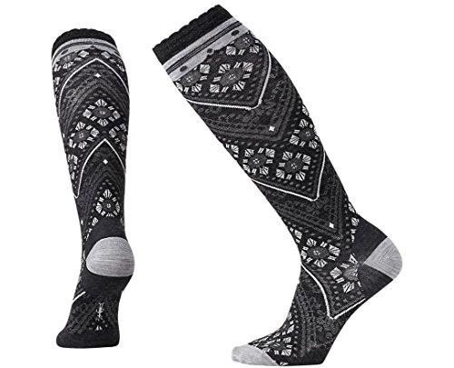 Smartwool Women's Lingering Lace Knee High Socks Small