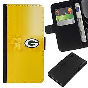 NEECELL GIFT forCITY // Billetera de cuero Caso Cubierta de protección Carcasa / Leather Wallet Case for Sony Xperia Z1 L39 // GRAMO